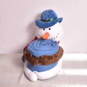 Snowman with Blanket